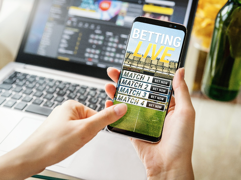Betting on smartphone
